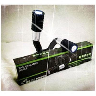 雙頭蛇形燈 LED蛇管萬用照明手電筒 ^(1支^) 萬用LED照明燈 急救 摸黑 掛在脖子