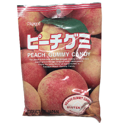 50^%OFF~JP00012SN~ 春日井 QQ水果軟糖~水蜜桃140g