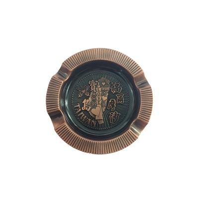 ~收藏天地~ 品~ 寶島方形銅色飾磁鐵/ 送禮 文創  吊飾 旅行
