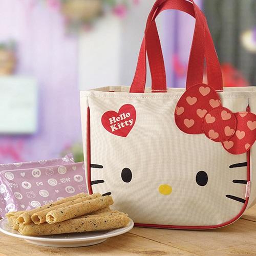 Hello Kitty 芝麻蛋捲禮盒-首選A版