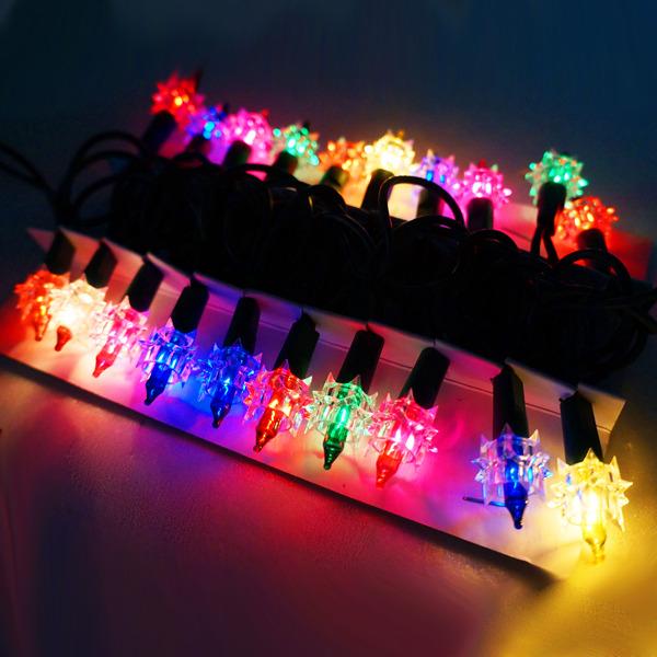 聖誕燈~鑽石燈串 ^(20燈^)^(鎢絲燈^)^(可搭聖誕樹^)