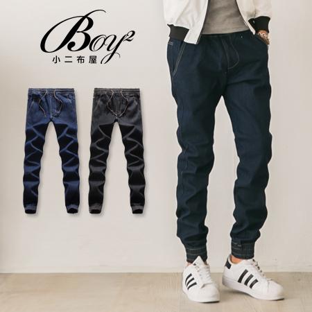 BOY2小二布屋~PPK85020~潮流內鋪棉厚刷毛重磅牛仔褲 現 預