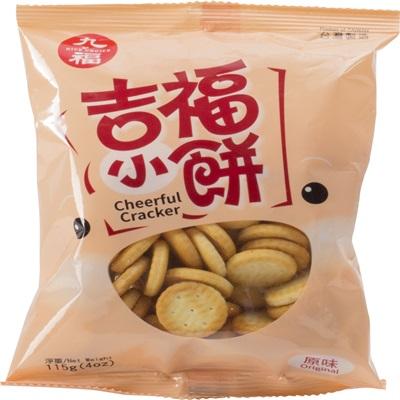 【里仁】吉福小餅原味 (100g/包)