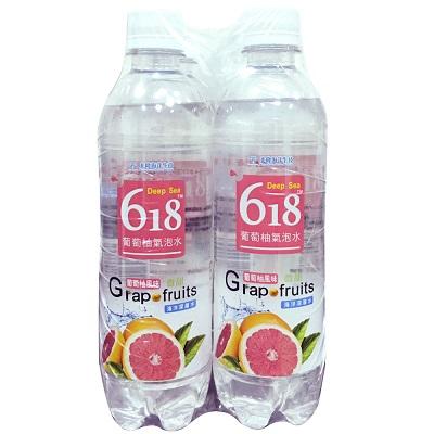D618葡萄柚氣泡水-4入