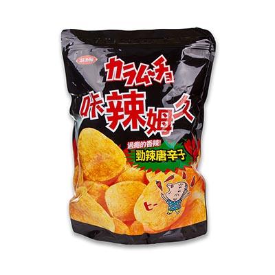 【美式賣場】湖池屋 勁辣唐辛子洋芋片 (500公克/包)