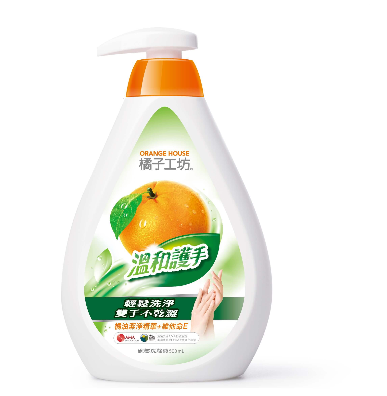 【橘子工坊】高效碗盤洗滌液(500ml)