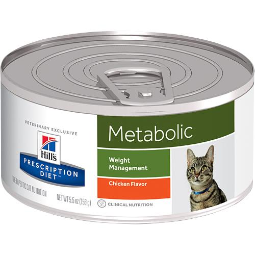 ≡OscarPet≡希爾思Metabolic肥胖基因代謝餐 體重管理貓處方罐156g