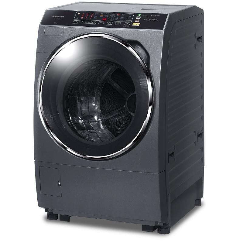【Panasonic】國際牌14公斤智慧節能變頻洗脫烘滾筒洗衣機 NA-V158BDH