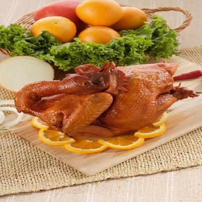 【冷凍店取-元進莊】阿進師桃木燻雞(紅羽土雞1.5kg)