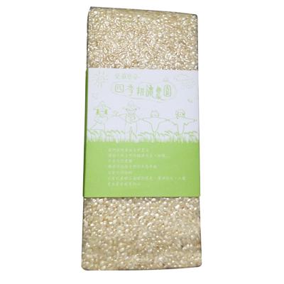 四季耕讀農園有機自然米~胚芽米900g 包