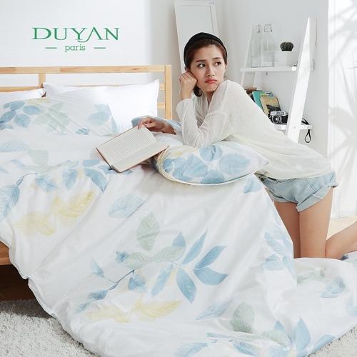 DUYAN~沐花光影~雙人加大三件式床包枕套組