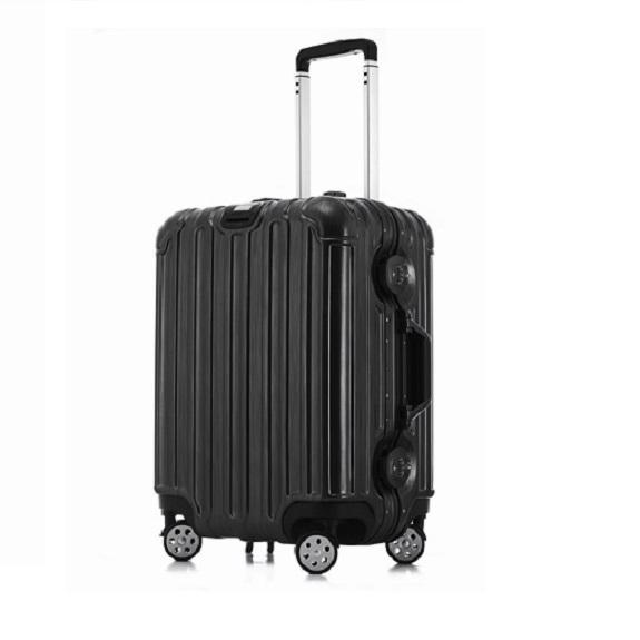 【NINORIVA】經典鋁框旅行箱-黑色29吋