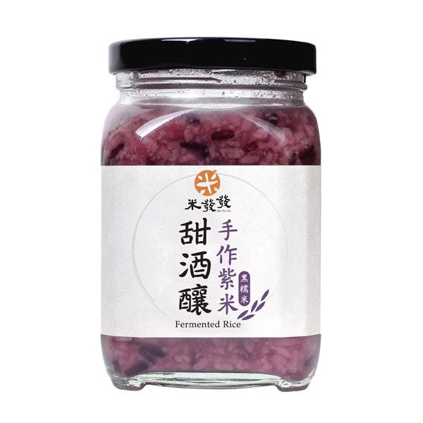 【PEKOE精選】台灣米發發 紫米甜酒釀  (300g)