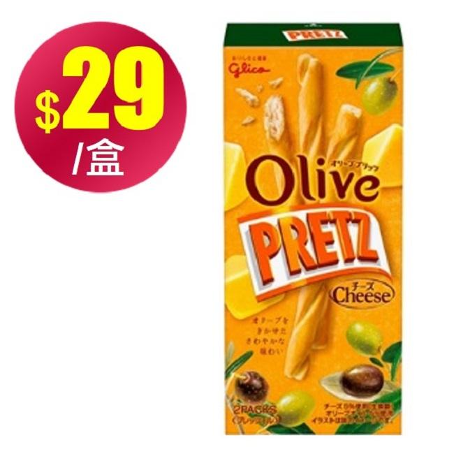 (即期優惠)【格力高】Olive起司風味百利滋棒(49g)