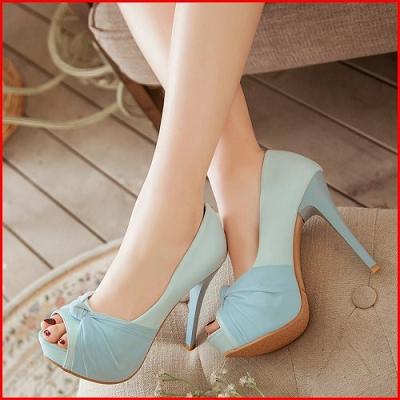 ~鞋館Shoes hall~~A12467~玩美女伶→夢幻蕾絲魚口高跟鞋^~ 粉色42^~