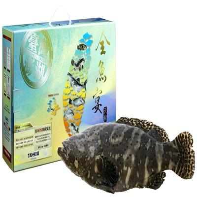 【天和鮮物】龍虎斑全魚禮盒(3.5kg)