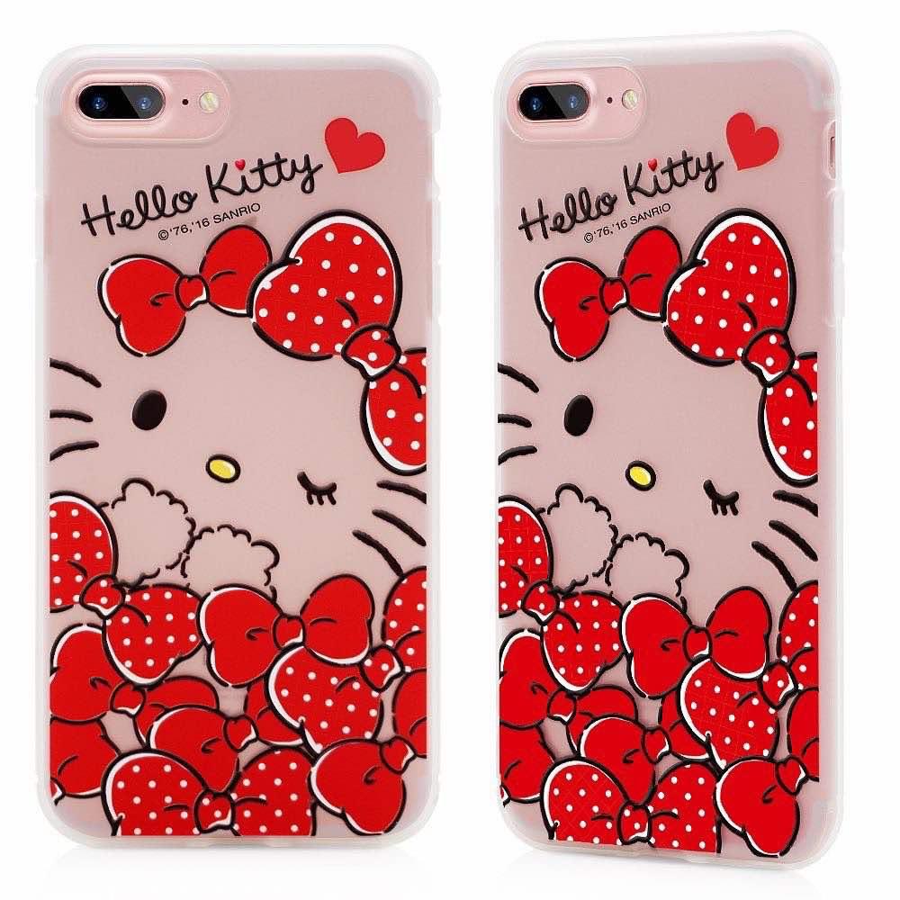 〈GARMMA〉Hello Kitty iPhone 7 Plus ^(5.5吋^) 軟式