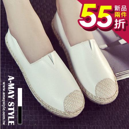 艾美 ~懶人鞋~素雅質樸拼接休閒鞋~XSUY814~