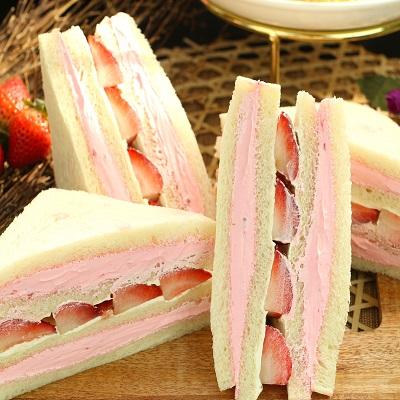 【美食村食品】大湖草莓三明治12組24入