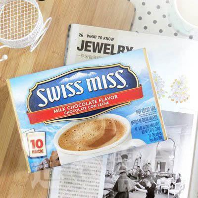 新品新包裝^!^!好事多瘋狂 ~新包裝 SwissMiss~熱可可粉~牛奶巧克力^(10包