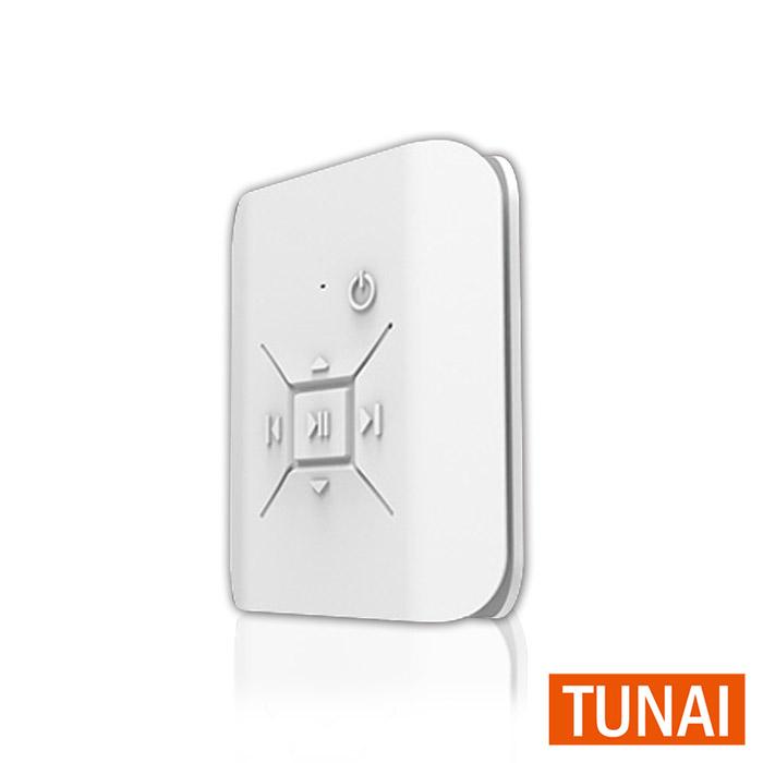 〈TUNAI〉CLIP嗑音樂 無線耳機擴大器 白