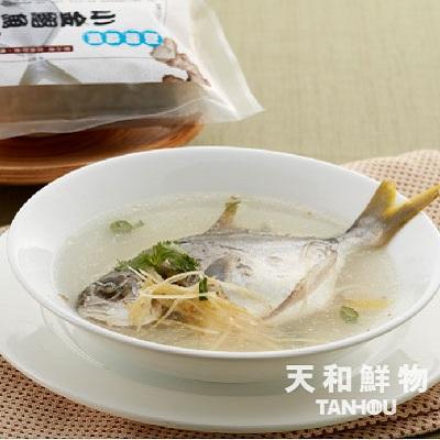 【冷凍店取-天和鮮物】澎湖小金鯧魚湯(整尾)(600g/包)