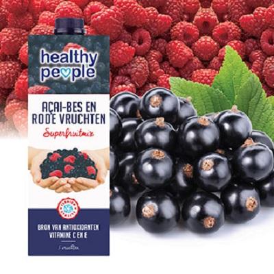 【Healthy People】巴西莓和紅莓汁 (1L)