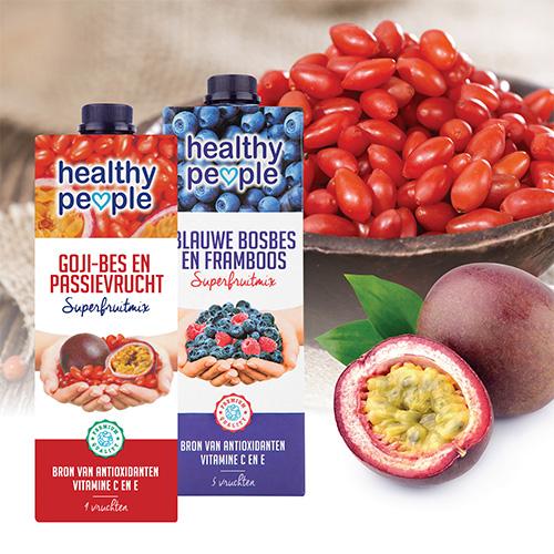 【Healthy People】藍莓覆盆子 (1L)+ 枸杞百香果汁 (1L)