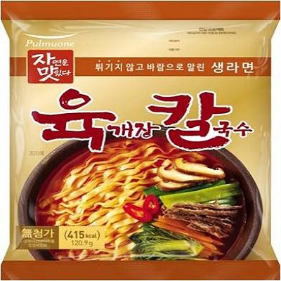 【Pulmuone】辣牛肉湯刀削麵(120g/4包)