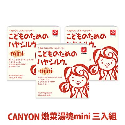 【CANYON】兒童燉菜湯塊mini 75g *3入