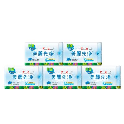 【FC美麗先淨】漢方衛生棉 夜用 (350mm * 6片)* 5包