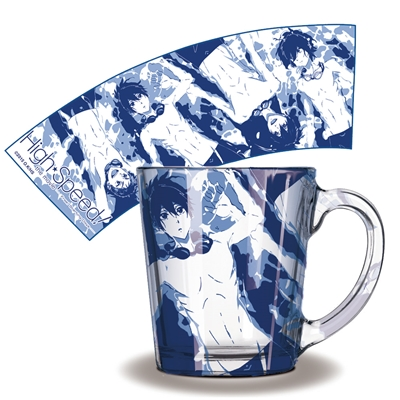 【曼迪】High Speed-透明玻璃杯-波光粼粼