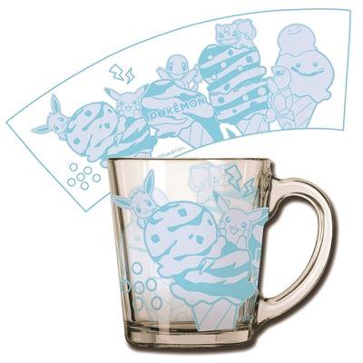 【曼迪】神奇寶貝XY-透明玻璃杯-初代回憶