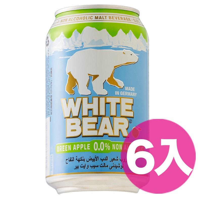 【吃貨人】德國熊白麥汁-青蘋果330ml*6入