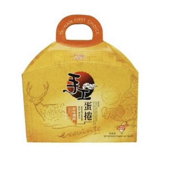 【福義軒】手工芝麻蛋捲禮盒 (600g+-3%/盒)