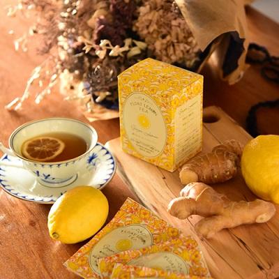 【光浦釀造】 漂浮檸檬生薑紅茶(6袋/盒)/日本The Wonder 500™商品