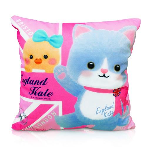 【英國貝爾】幸福凱特抱枕