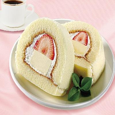 【札幌奶凍捲】單盒札幌草莓奶凍捲(300g/盒)