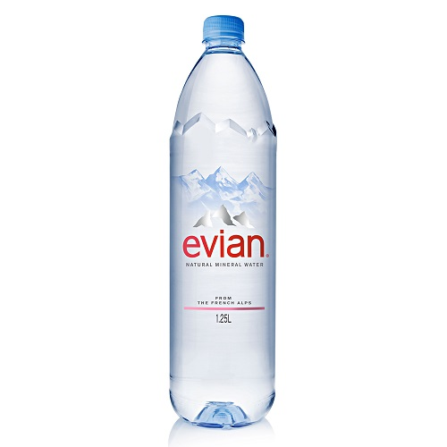 【evian依雲】天然礦泉水(1250mlx12瓶/箱)