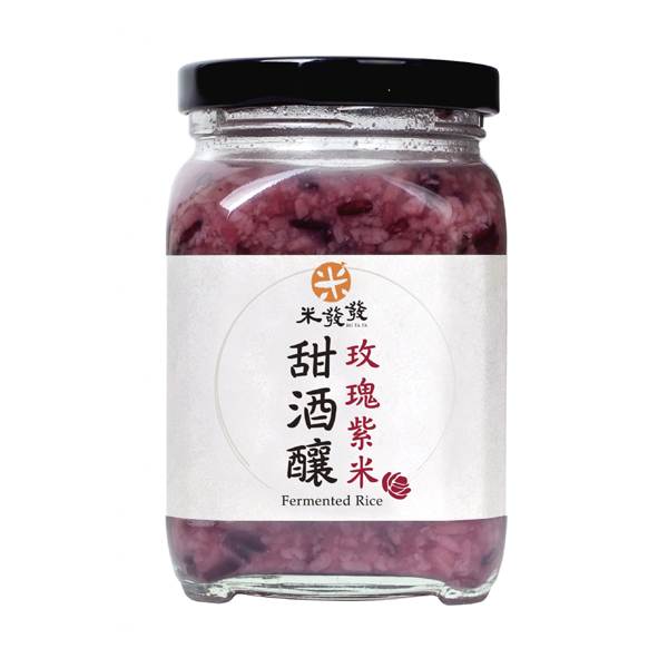 【PEKOE精選】台灣米發發 玫瑰紫米甜酒釀  (300g)