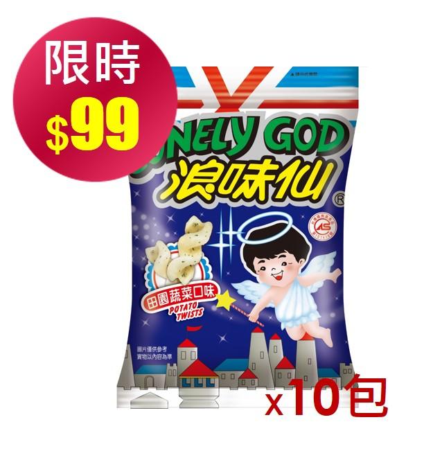 【浪味仙】蔬菜餅(42g*10入/箱)