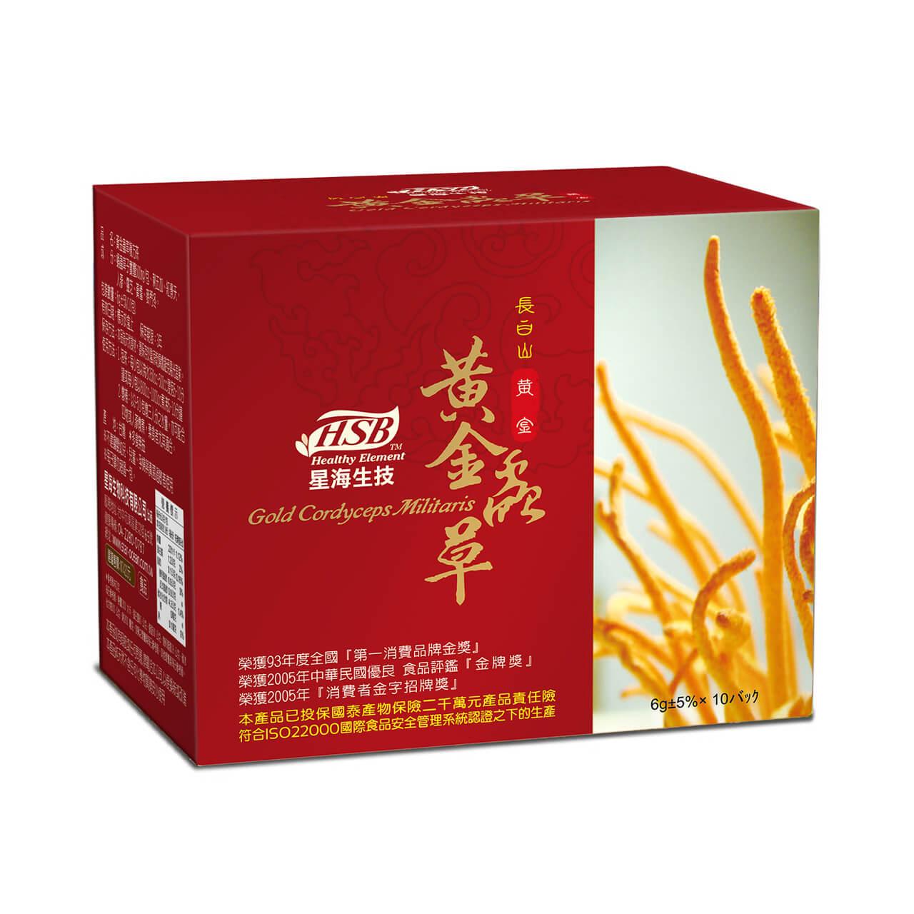 黄金虫草复方茶/10入