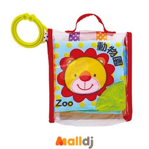 【Malldj亲子购物网】风车图书   动物园-宝宝最爱的磨牙布书 #PB16910015244800