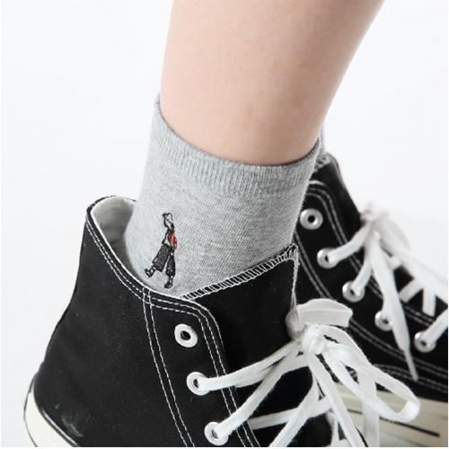 文青少女中筒袜-28270