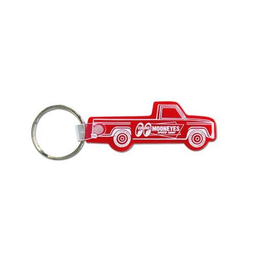 MOONEYES - 汽车造型橡胶钥匙圈(红色)