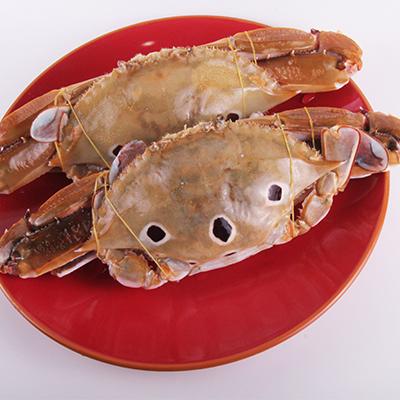【海港直送,秋季限定】【赠送紫苏叶】台湾现捞三点蟹 5只