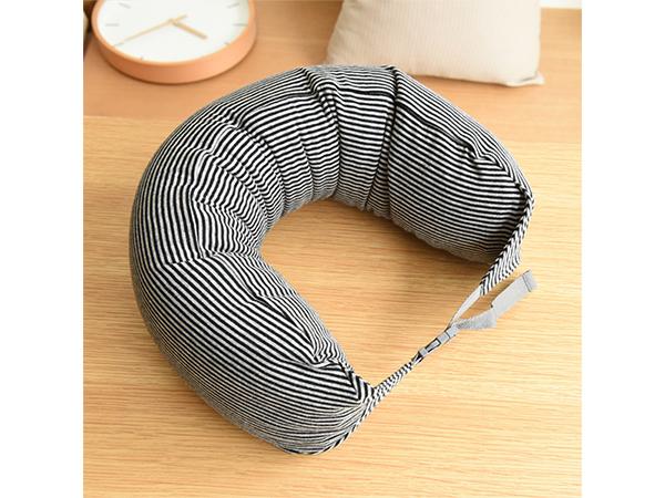 旅行U型枕头护颈枕(1入) 不挑色【D020612】午睡枕/旅行枕/靠枕
