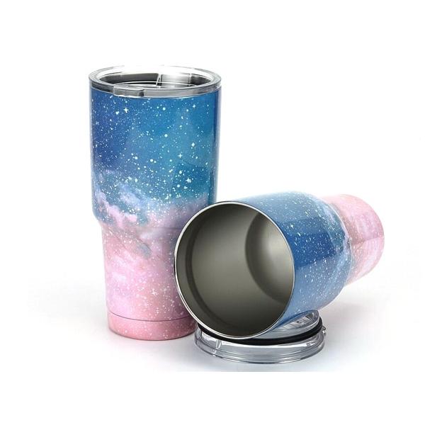 冰酷星空杯(900ml) 星空灰/星空粉/星空蓝/星空紫 4款可选【D011607】冰霸杯/爆冷/极冻保冰