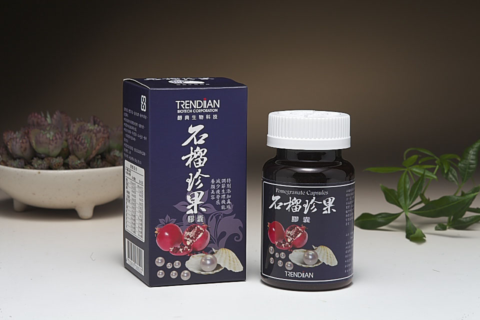 醇典石榴珍果胶囊(60颗/瓶)