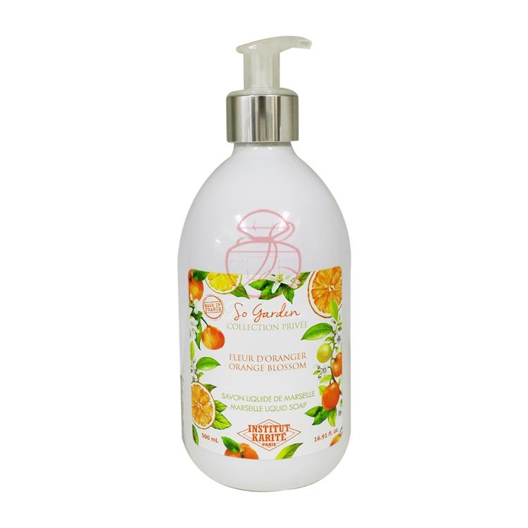 月子中心主推 Institut Karite PARIS 巴黎乳油木花园香氛液体皂 多款供选 500ML【冈山真爱香水】